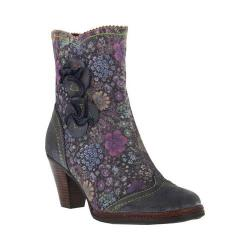 Women's L'Artiste by Spring Step Simonetta Boot Blue Suede