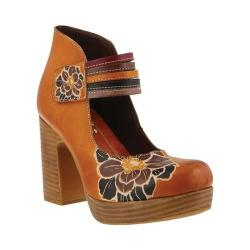 Women's L'Artiste by Spring Step Svetlina Mary Jane Camel Leather