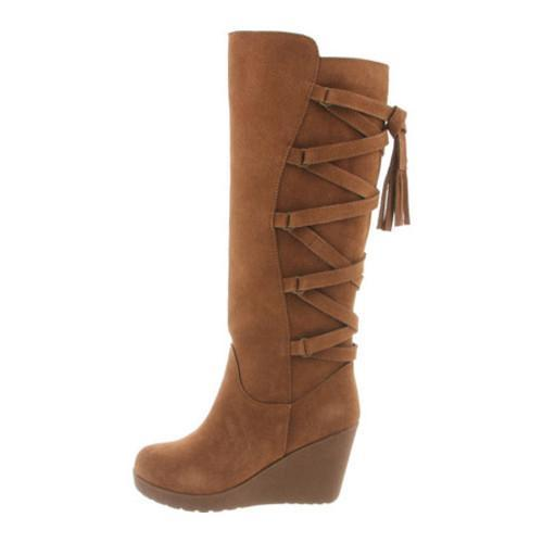 42e7f9b3fae ... Thumbnail Women  x27 s Bearpaw Britney Knee-High Wedge Boot Hickory ...