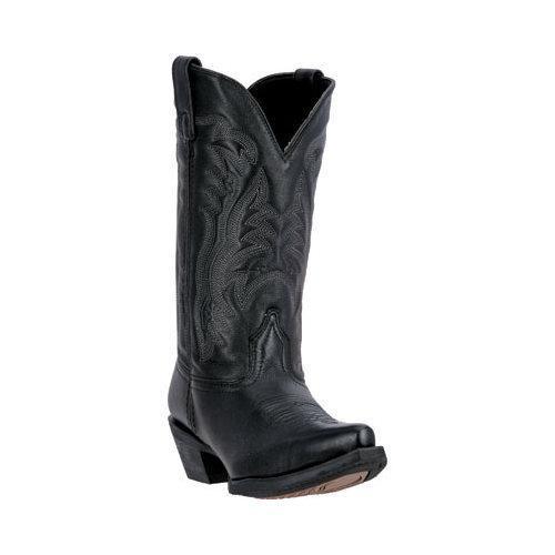 Women's Laredo Maddie Cowgirl Boot 51110 Black Leather