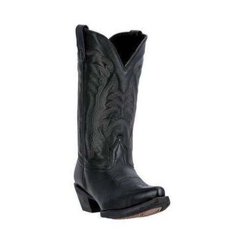 Women's Laredo Maddie Cowgirl Boot 51110 Black Leather
