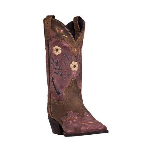 Women's Laredo Miss Kate 52137 Brown/Pink Leather