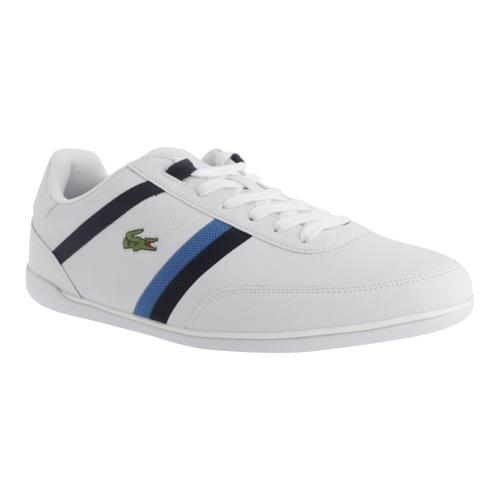 Men's Lacoste Giron Pus White/Dark Blue Leather