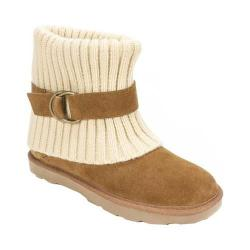 Women's White Mountain Narna Sweater Boot Chestnut Suede