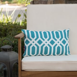 Manduka Outdoor Arabesque Rectangle Pillow by Christopher Knight Home