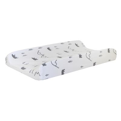 Little Black Bear Changing Pad Cover