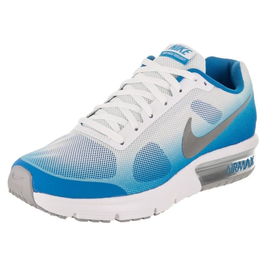 Nike Kids Air Max Sequent (GS) Running Shoe (5), Boy's, B...