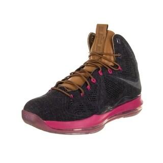 Nike Men's LeBron X Ext Denim QS Basketball Shoe