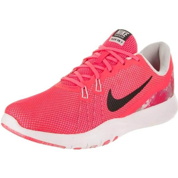 e7310d5ee9 Shop Nike Women's Flex Trainer 7 Print Training Shoe - Free Shipping ...