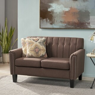 Jacopo Traditional Fabric Loveseat by Christopher Knight Home