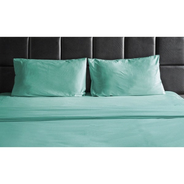 With Deep Pocket Egyptian Bed Sheet 4 Piece Set 1800 Series Comfort 11 Colors