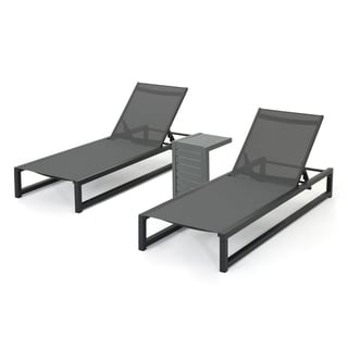 buy outdoor chaise lounges online at overstockcom our best patio furniture deals - Chaise Table