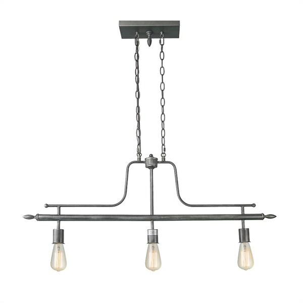 Shop LNC 3-Light Linear Billiard Island Chandeliers