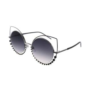 Marc Jacobs Cat-eye Marc 16 Y1N Women Dark Ruthenium Frame Grey Gradient Lens Sunglasses