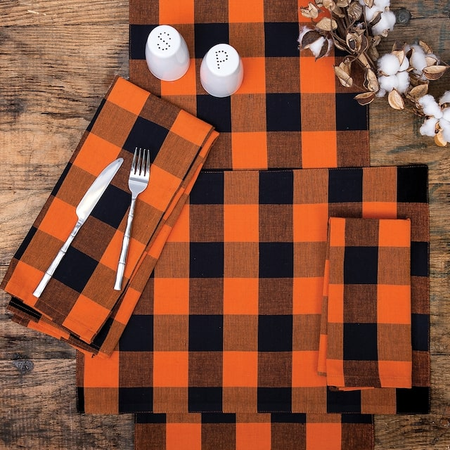 Griffin Check Woven Placemat