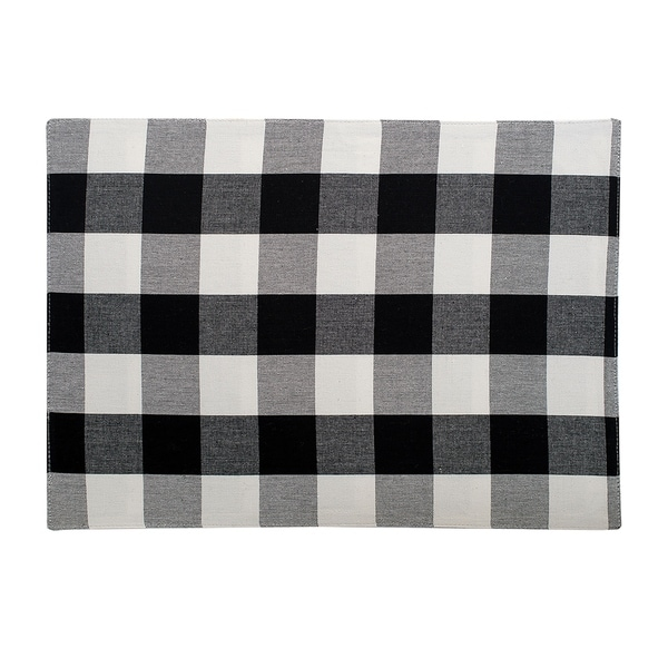 Griffin Check Woven Placemat. Opens flyout.