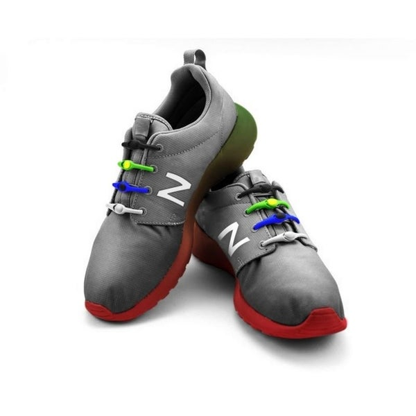 Silicone No Tie Lazy Laces (14 Pack). Opens flyout.