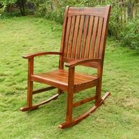 International Caravan Highland Traditional Porch Rocker