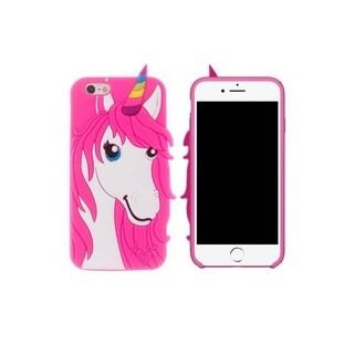 3D Soft Silicone Unicorn Case