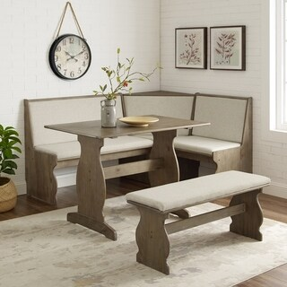 Hannah 3-piece Nook Dining Set