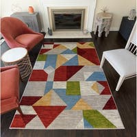 Merilee Modern Abstract Area Rug - 8' x 10'
