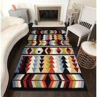 Destined Modern Geometric Area Rug - 8' x 10'