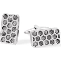 Stainless Steel Cufflinks for men -One size - Silver