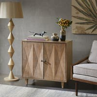 INK+IVY Adeline Brown 2 Door Accent Cabinet