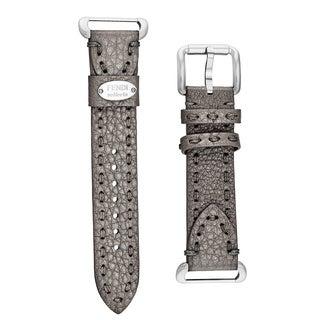Fendi Women's SS18RD6S 'Selleria' Grey Leather Strap