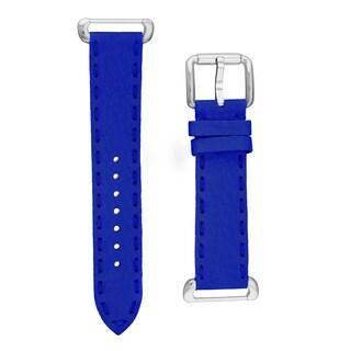 Fendi Women's SSN18RC3S 'Selleria' Neon Blue Leather Strap
