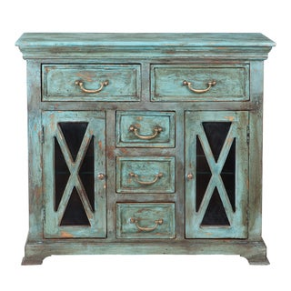 Ellesmerc Collection Mango Wood Cabinet