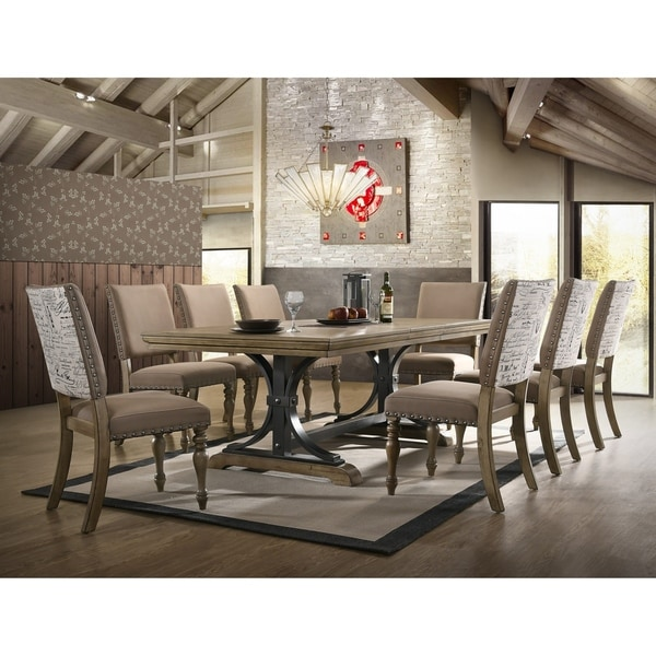 Cheap Dinette Sets Free Shipping: Shop Birmingham 9-Piece Removable Leaf Table With Side