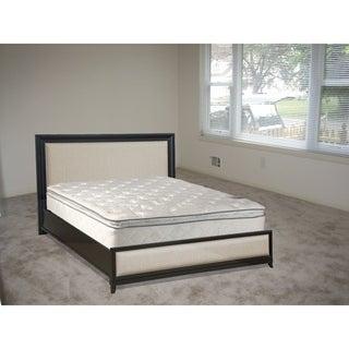 Continental Sleep, Medium Plush Pillowtop Doublesided Mattress, Full Size