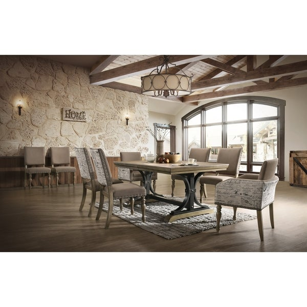 Shop Birmingham 9 Piece Removable Leaf Table With Arm