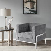 Madison Park Ruby Grey Accent Chair