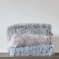 Intelligent Design Maddie Shaggy Faux Fur Throw