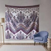 Intelligent Design Layne Printed Oversized Wall Tapestry 2 Color Option