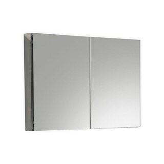 """Kube 48"""" Mirrored Medicine Cabinet"""