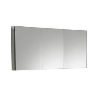 """Kube 60"""" Mirrored Medicine Cabinet"""