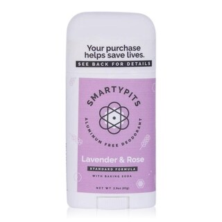 SmartyPits 2.9-ounce Standard Formula Deodorant Lavender & Rose