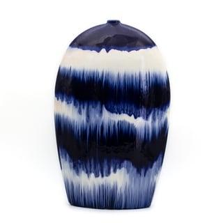 Claybarn Fusion Oval Flat Vase