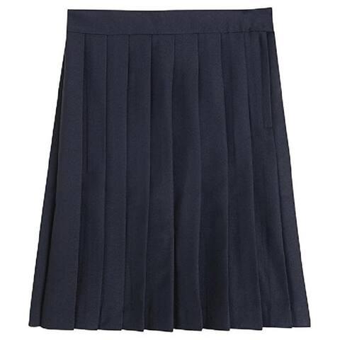 Betty Z Girl's School Uniform Pleated Skirt