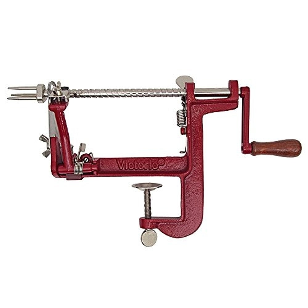 Victorio VKP1011 Johnny Apple Peeler Clamp Base, Red (Sta...