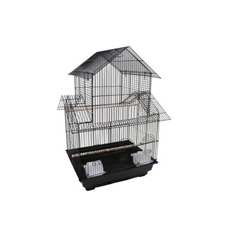 "YML 1644 3/8"" Pagoda Top Cage 16x16"", Black (Black)"
