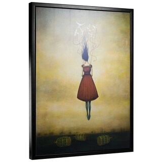 "Suspension of Disbelief by Duy Huynh Framed Canvas 40"" x 30"""