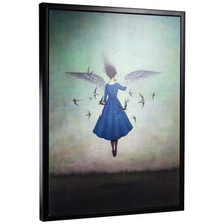 "American Art Decor Swift Encounter by Duy Huynh Framed Canvas 40"" x 30"""