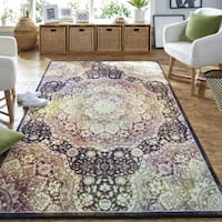 Copper Grove Sukhanand Traditional Medallion MultiColor Area Rug - 5' x  8'