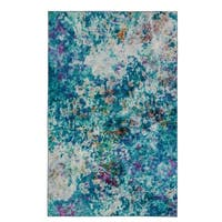 Carson Carrington Lohja Art Explosion MultiColor Modern Abstract Area Rug - 5' x  8'
