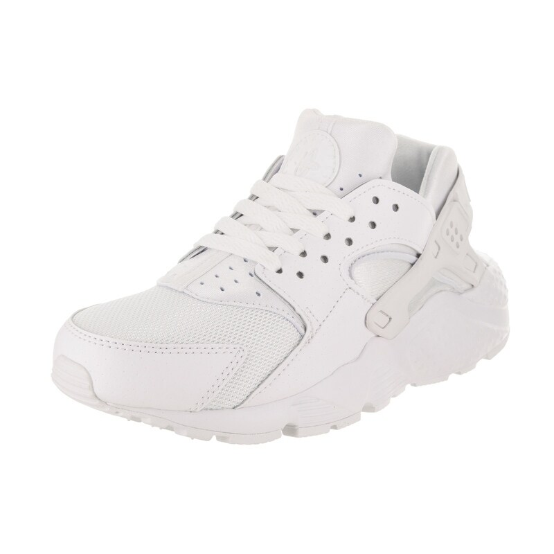 Nike Kids Huarache Run (GS) Running Shoe (6.5), Boy's, Wh...