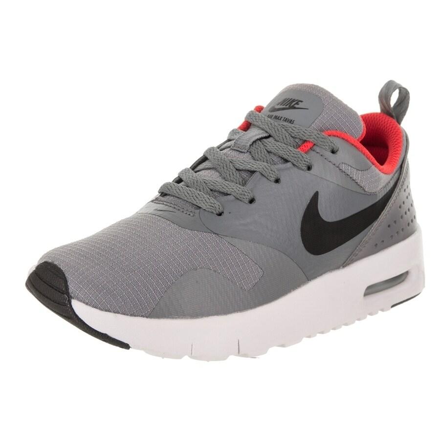Nike Kids Air Max Tavas (PS) Running Shoe (2), Boy's, Gre...